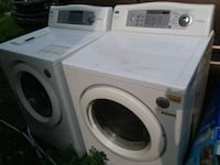 white front-load washer and dryer set Indianapolis, 46201