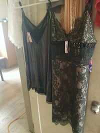 women's black and gray floral dress Winnipeg, R2W 2A6