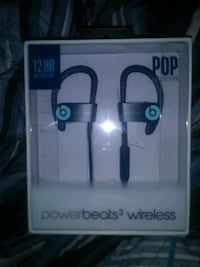 Powerbeats 3 wireless headphones, pop collection, by Dr. Dre