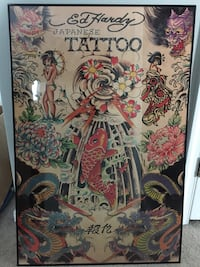 Ed Hardy Tattoo poster Germantown, 20874