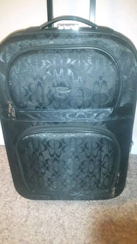 Black medium suit case Prince George, V2M 4P3