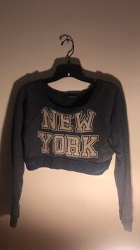 Blue and white crop sweater  Miami, 33174