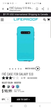 LIFEPROOF  Samsung S10 case
