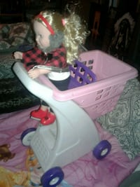 Little doll added with shopping cart  Edmonton, T6H 4M9