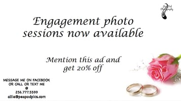 Engagement Photo Sessions Available