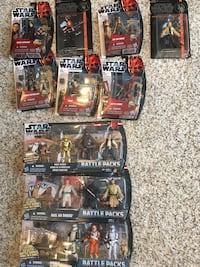 Star Wars Figures and Battle Packs Edmonton, T6X 0M5