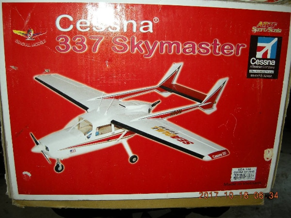SEAGULL CESSNA 337 SKYMASTER RADIO CONTROLLED AIRP