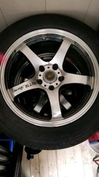 4 rims with tires Vaughan