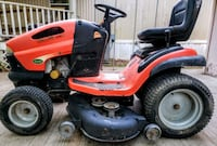 red and black ride on lawn mower Hertford, 27944