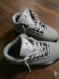 pair of gray Nike running shoes Reading, 19604