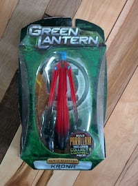 red Green Lantern figure with pack