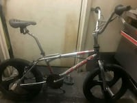 gray and black BMX bike 224 mi