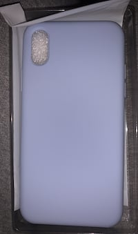 Baby blue iphone x/xs case Vaughan