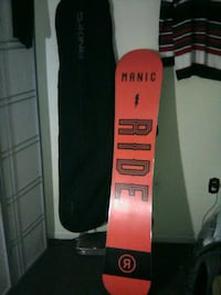 Snow Board Manic including bag