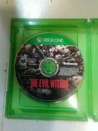 Evil within 1!!! Game only 385 mi