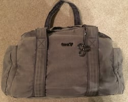 Tna grey gym bag