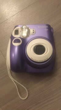 Polaroid 300 instant camera with film & wrist strap