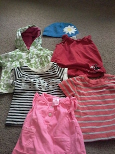 0 to 3 month shirts an jacket