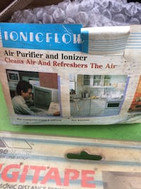 Ionicflow air purifier and ionizer box Fishkill, 12524