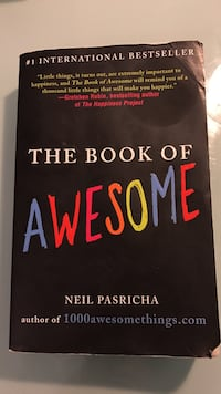 The Book of Awesome - Neil Pasricha Richmond Hill, L4C 8Z3