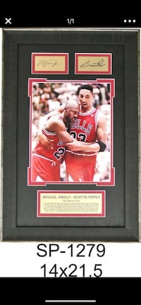 Michael jordan Flu Game Plaque Bakersfield, 93313