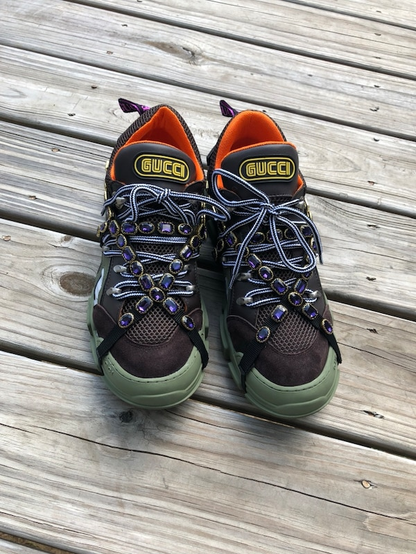df48704568d Used Gucci sneakers with removable crystals (I don t have original box with  me