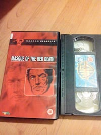 Masque Of The Red Death Vhs Film Eyüp, 34055