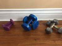 Dumbbells (5 and 8 lbs) Vaughan, L6A 3Y5