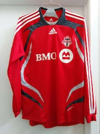 red and white Adidas jersey shirt Gatineau, J8T 5G1