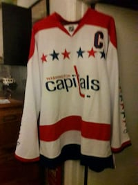 Washington Capitols jersey Burke