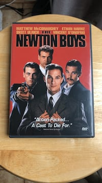 The Newton Boys DVD Movie Laurel