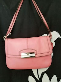 pink leather crossbody bag with tassel Toronto, M5C 1T4