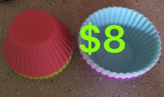 Cup cakes silicone