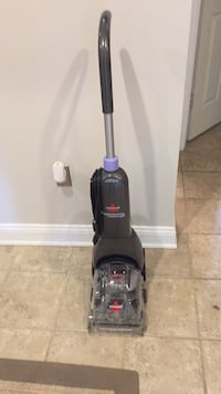 black Bissell upright vacuum cleaner Alexandria, 22310