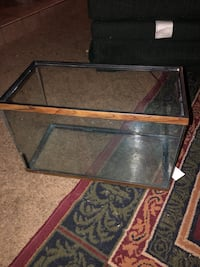 Rectangular clear glass pet tank Modesto, 95350