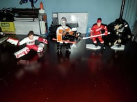 NHL, NFL, Diecast planes and mini action figures