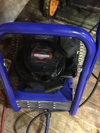 Blue and black pressure washer  Langley, V3A 1X4