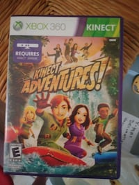 X Box 360 Kinect Adventures game