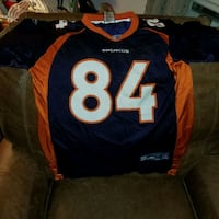 Official NFL Jersey from Brandon Lloyd  of the Den St. Louis, 63110