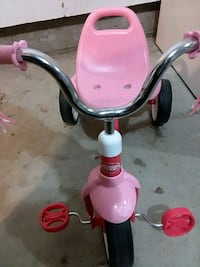 pink and white Radio Flyer trike Ames, 50010