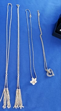 Various 14K Gold ROPE CHAIN NECKLACES w/ pendants Pearl City, 96782