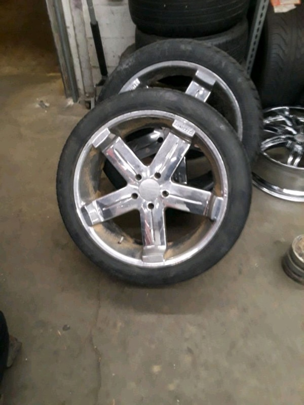 23 inch rims and spacers