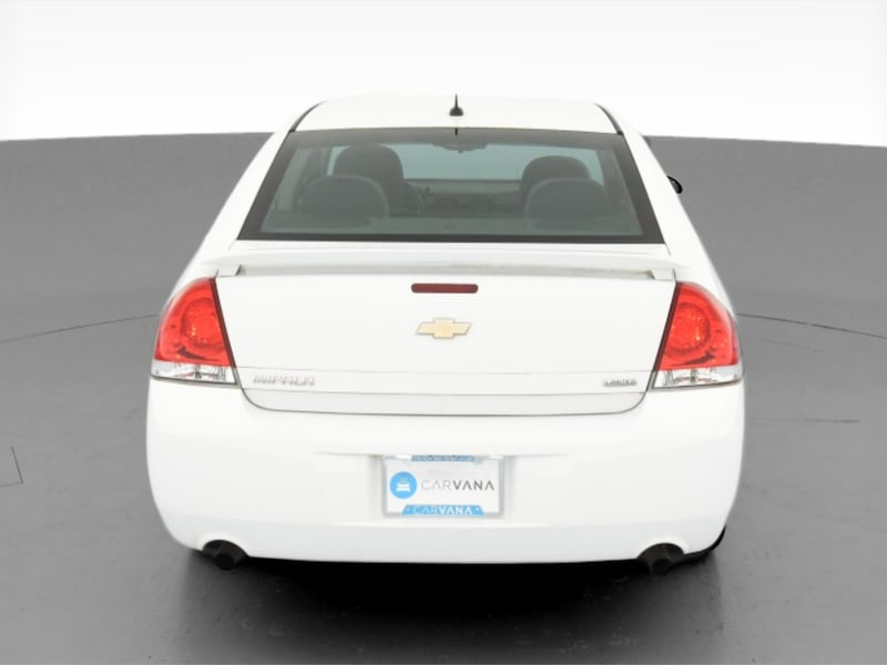 2014 Chevy Chevrolet Impala Limited sedan LS Sedan 4D White  8