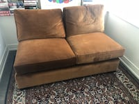 Create and Barrel love seat /sectional piece Chicago, 60625