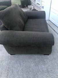 2 oversized chairs and ottoman to match