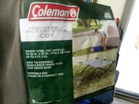 Coleman military Cot West Covina
