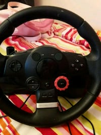 Steering wheel and pedals for ps3 Mississauga, L5B 3Y7
