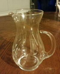 clear glass pitcher St. Augustine, 32084