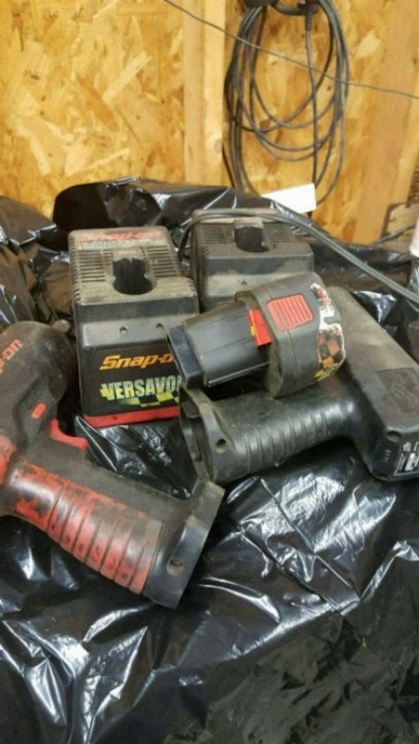Snapon old electric 3/8 and 1/2 impact