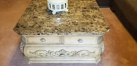 Very stylish marble top coffee table McLean